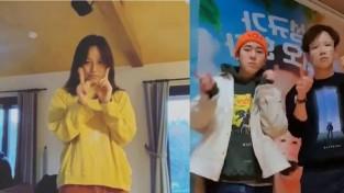 화사,청하,장성규,이효리 대세인증 #아무노래챌린지