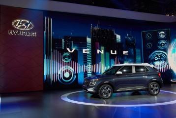 현대자동차, 2019 뉴욕 국제 오토쇼서 새로운 엔트리 SUV '베뉴' 세계 최초 공개